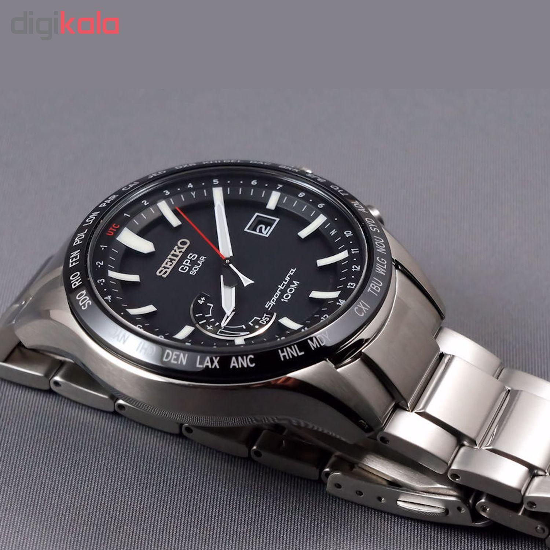 ساعت مچی عقربه ای مردانه سیکو مدل SSF003J1
