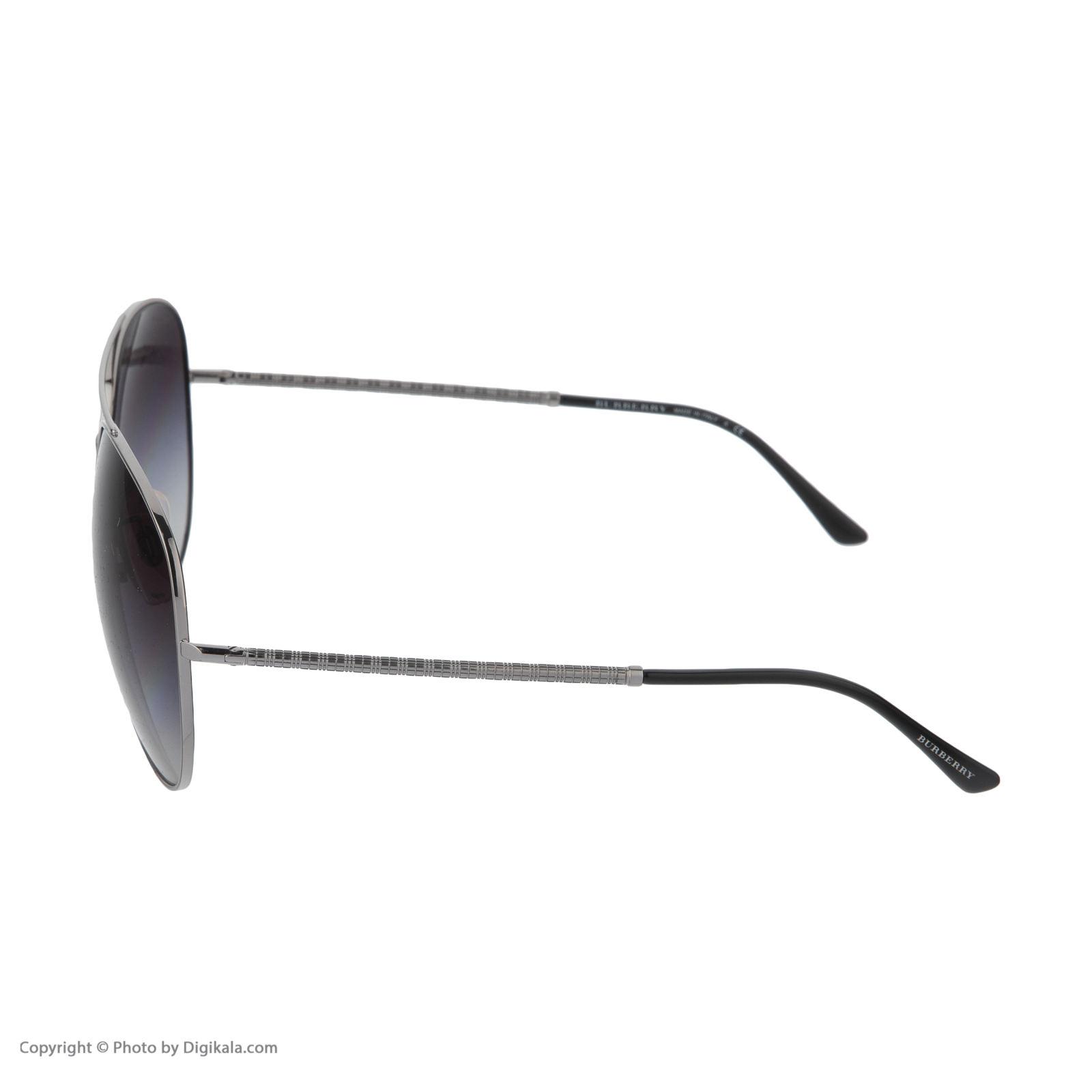 عینک آفتابی زنانه بربری مدل BE 3051S 10068G 61 -  - 6