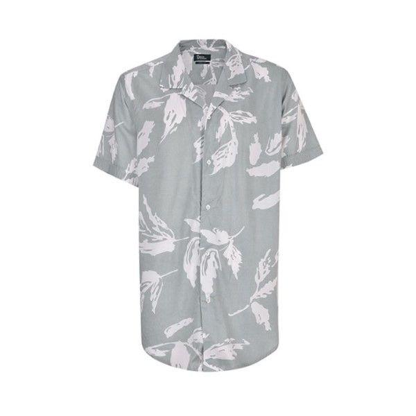 پیراهن آستین کوتاه مردانه بادی اسپینر مدل 2726 کد 1 رنگ سبز