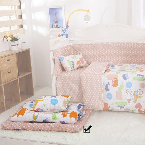 سرویس نوزادی 3 تکه طرح  ENJOY THE DAY  اسلیپی