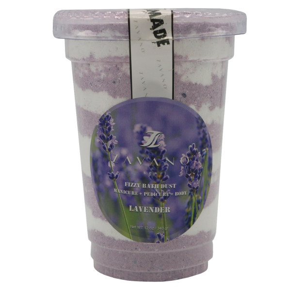 پودر کف دار مانیکور پدیکور زاوانو مدل Lavender