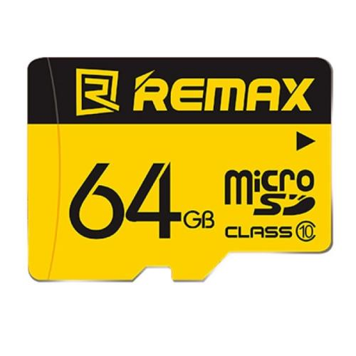 کارت حافظه micro SDHC  ریمکس کلاس 10 سرعت 45MBps ظرفیت 64گیگابایت