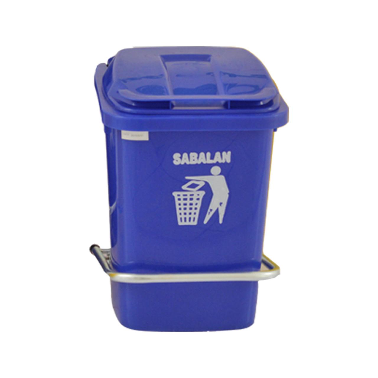 سطل زباله  کد 216637 ظرفیت 40 لیتر