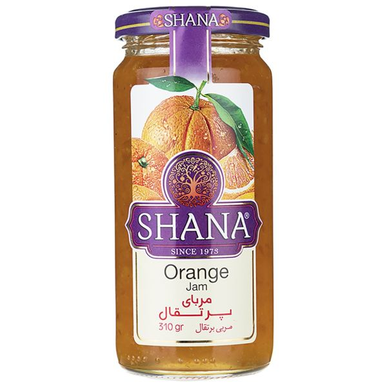 مربا پرتقال شانا - 310 گرم