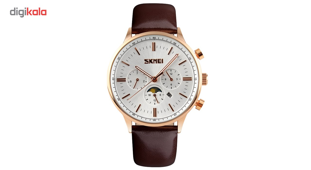 ساعت مچی عقربه ای مردانه اسکمی مدل S9117/White