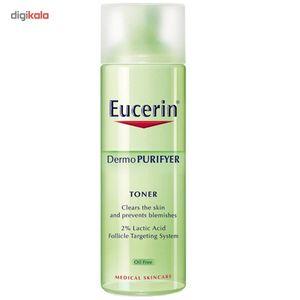 تونر اوسرین مدل Dermo Purifyer حجم 200 میلی لیتر  Eucerin Dermo Purifyer Toner 200ml