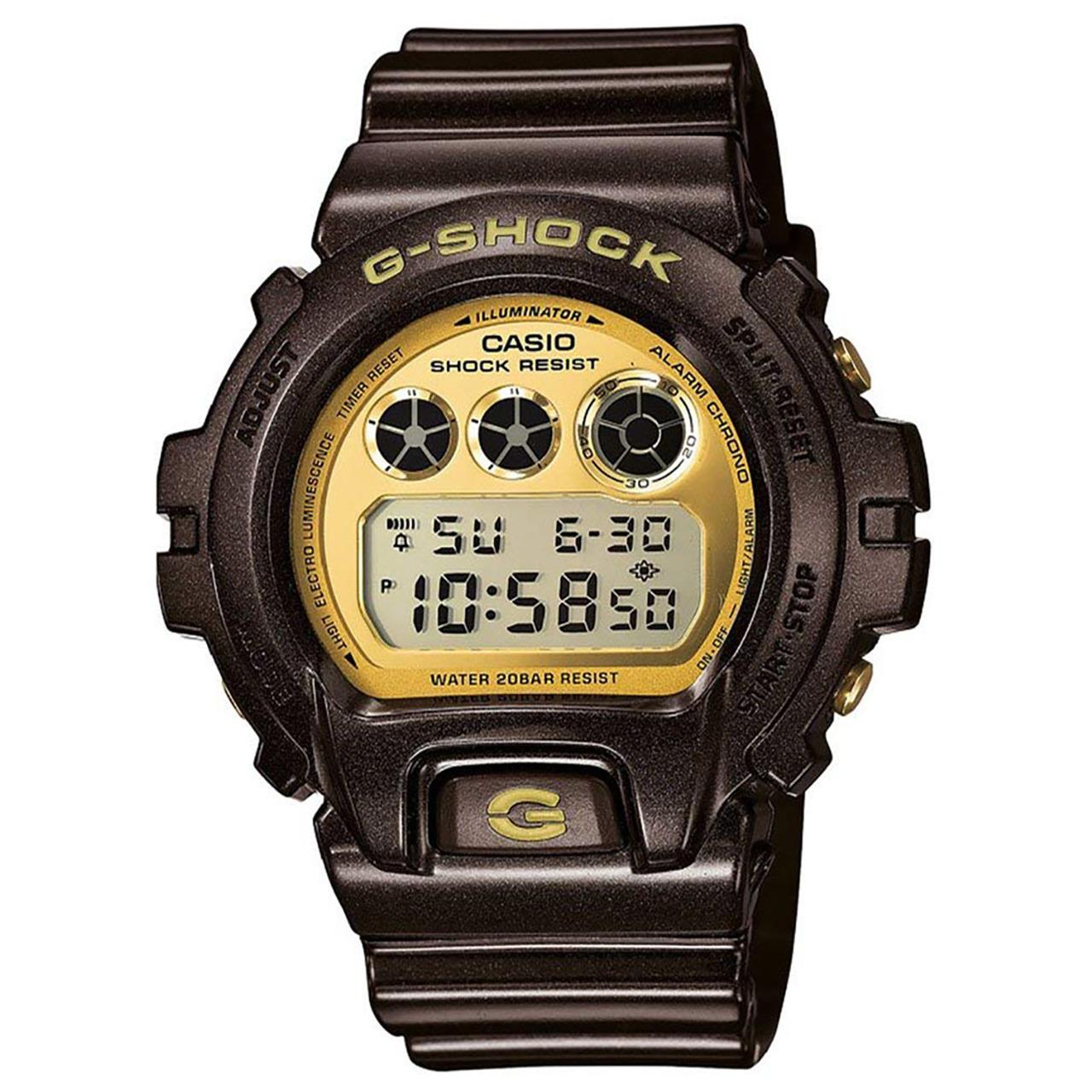ساعت مچی دیجیتالی مردانه کاسیو جی شاک مدل DW-6900BR-5DR