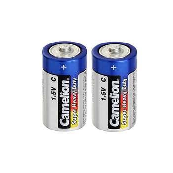 باتری متوسط C کملیون مدل Super Heavy Duty بسته 2 عددی