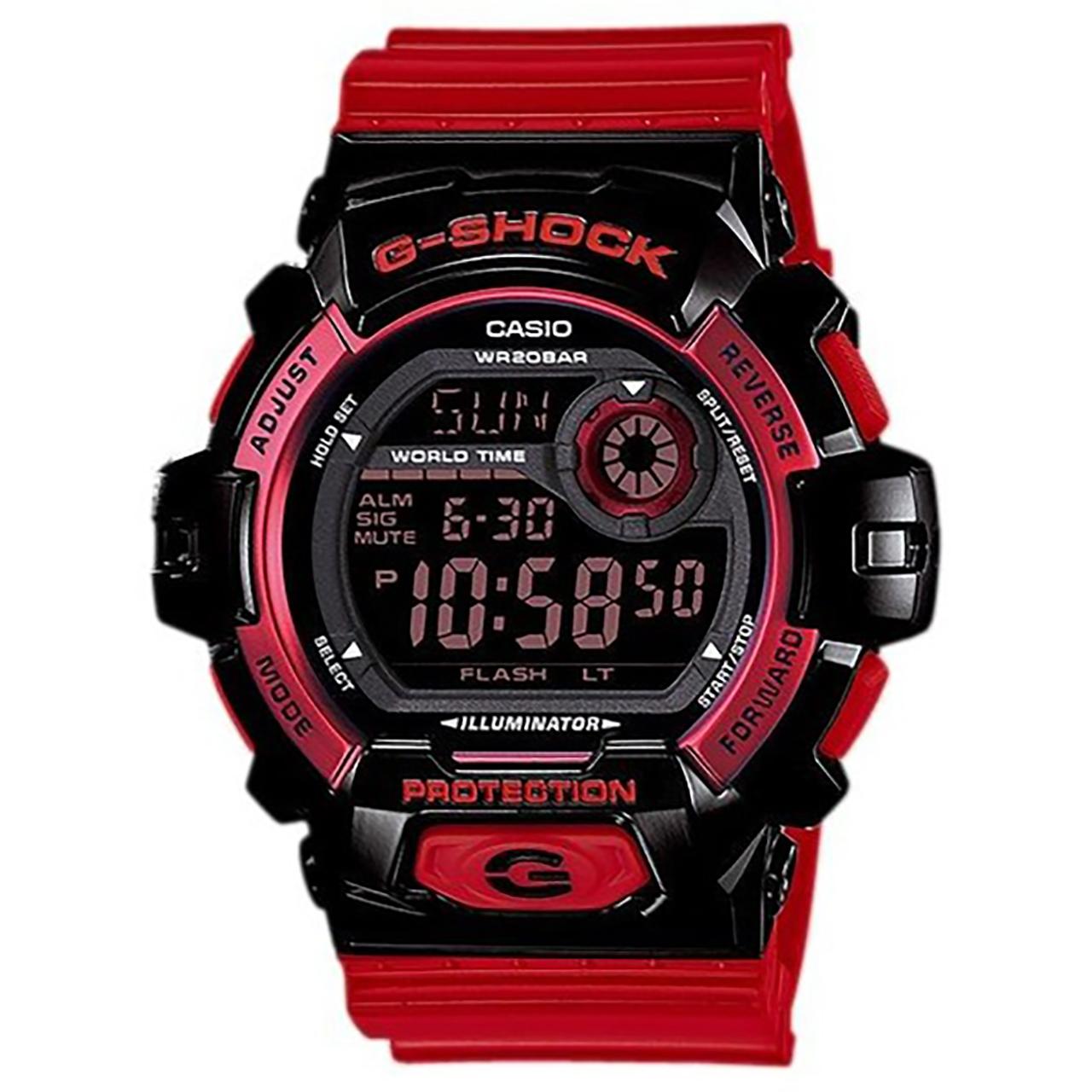 ساعت مچی دیجیتالی مردانه کاسیو جی شاک مدل G-8900SC-1RDR 32
