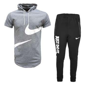 ست تی شرت و شلوار ورزشی مردانه مدل 912021
