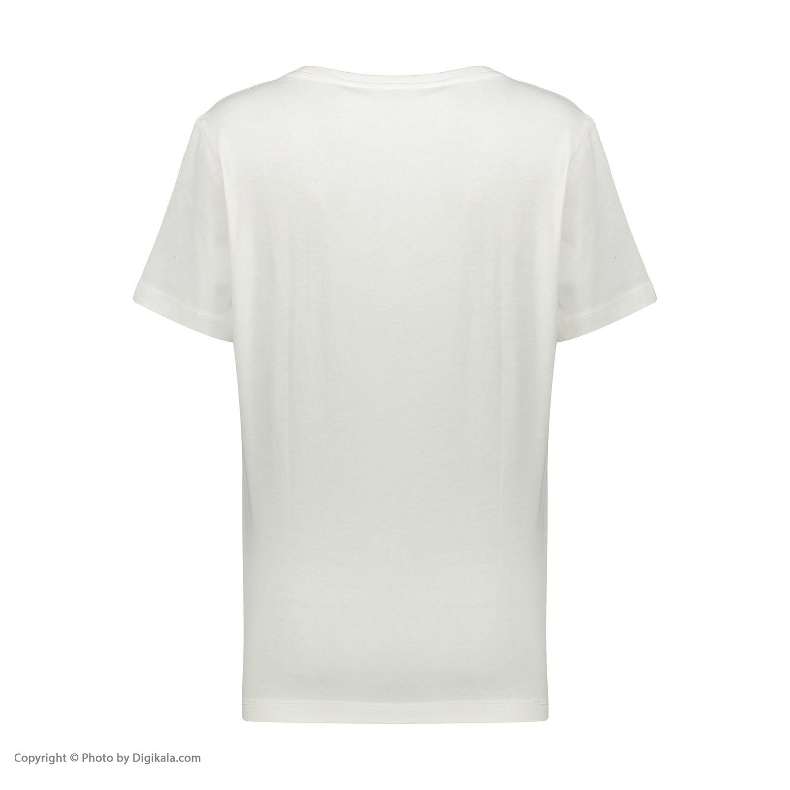 تی شرت زنانه جامه پوش آرا مدل 4012019475-05 -  - 5