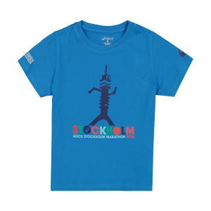 تی شرت آستین کوتاه ورزشی بچگانه اسیکس مدل 140618ST0823
