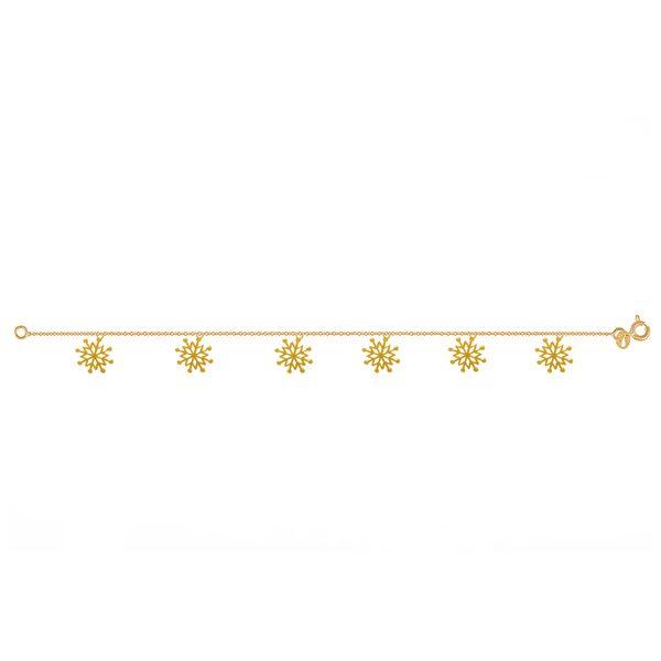 پابند طلا 18 عیار نازنین کد GR198
