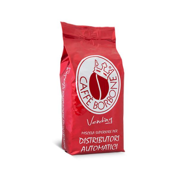 دانه قهوه  کافه بربن  مدل وندینگ ترکیب قرمز مقدار ۱۰۰۰ گرمی