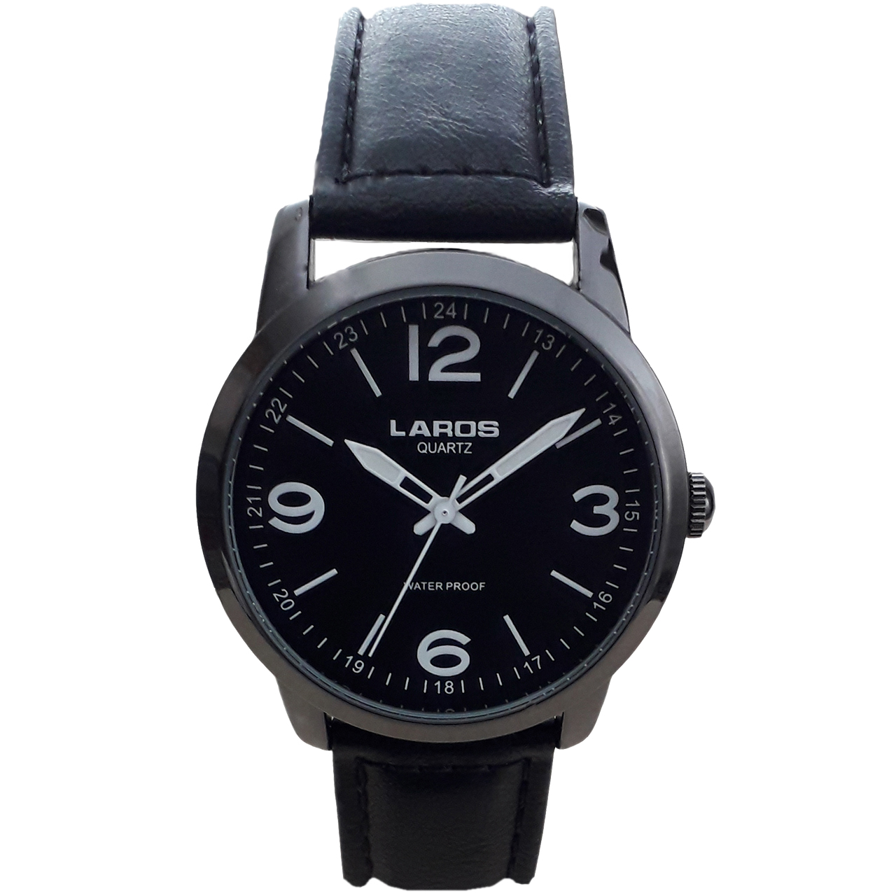 ساعت مچی عقربه ای مردانه لاروس مدل  80153S black 34