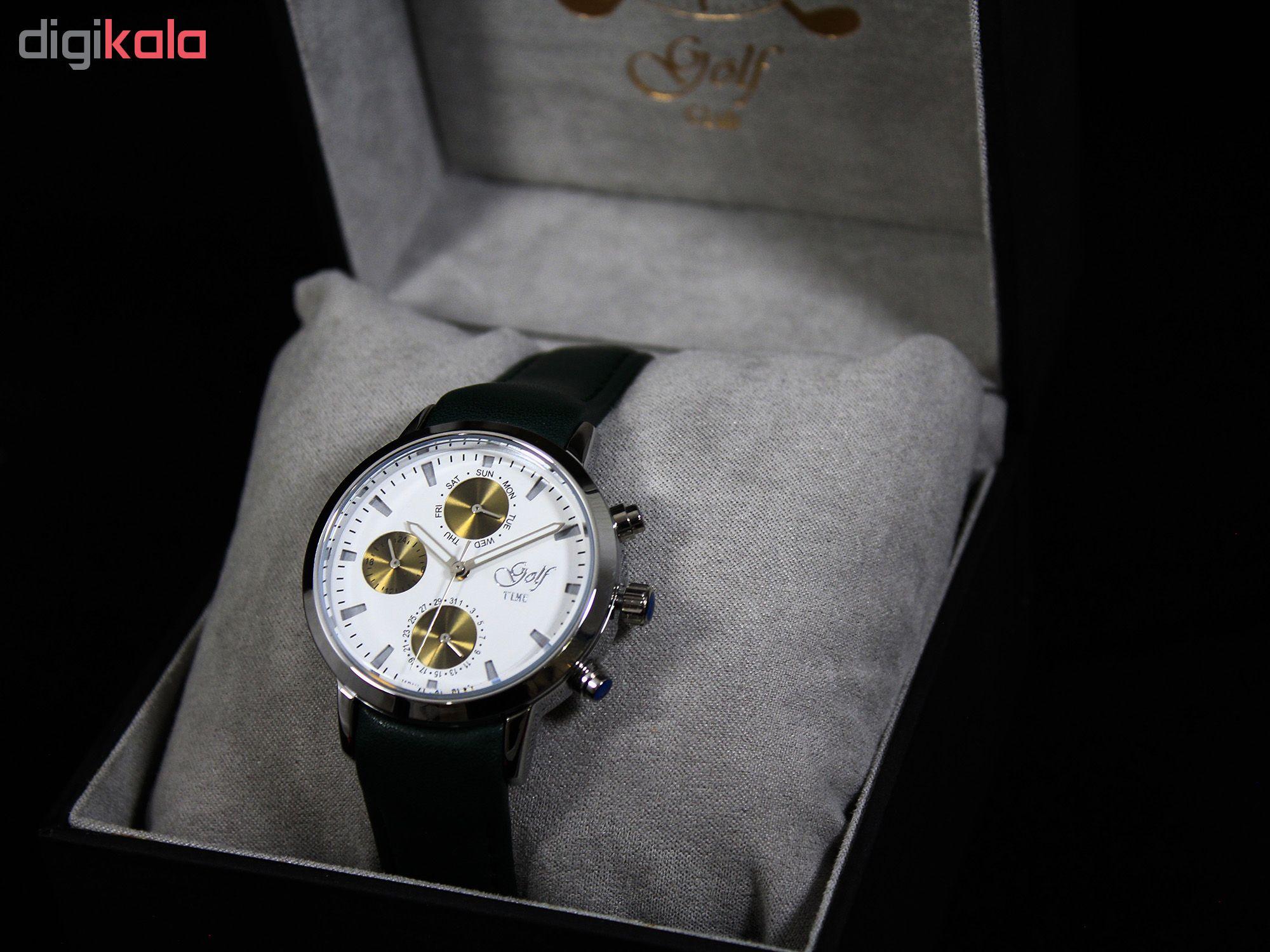 ساعت مچی عقربه ای   زنانه  گلف مدل 3-0218              ارزان
