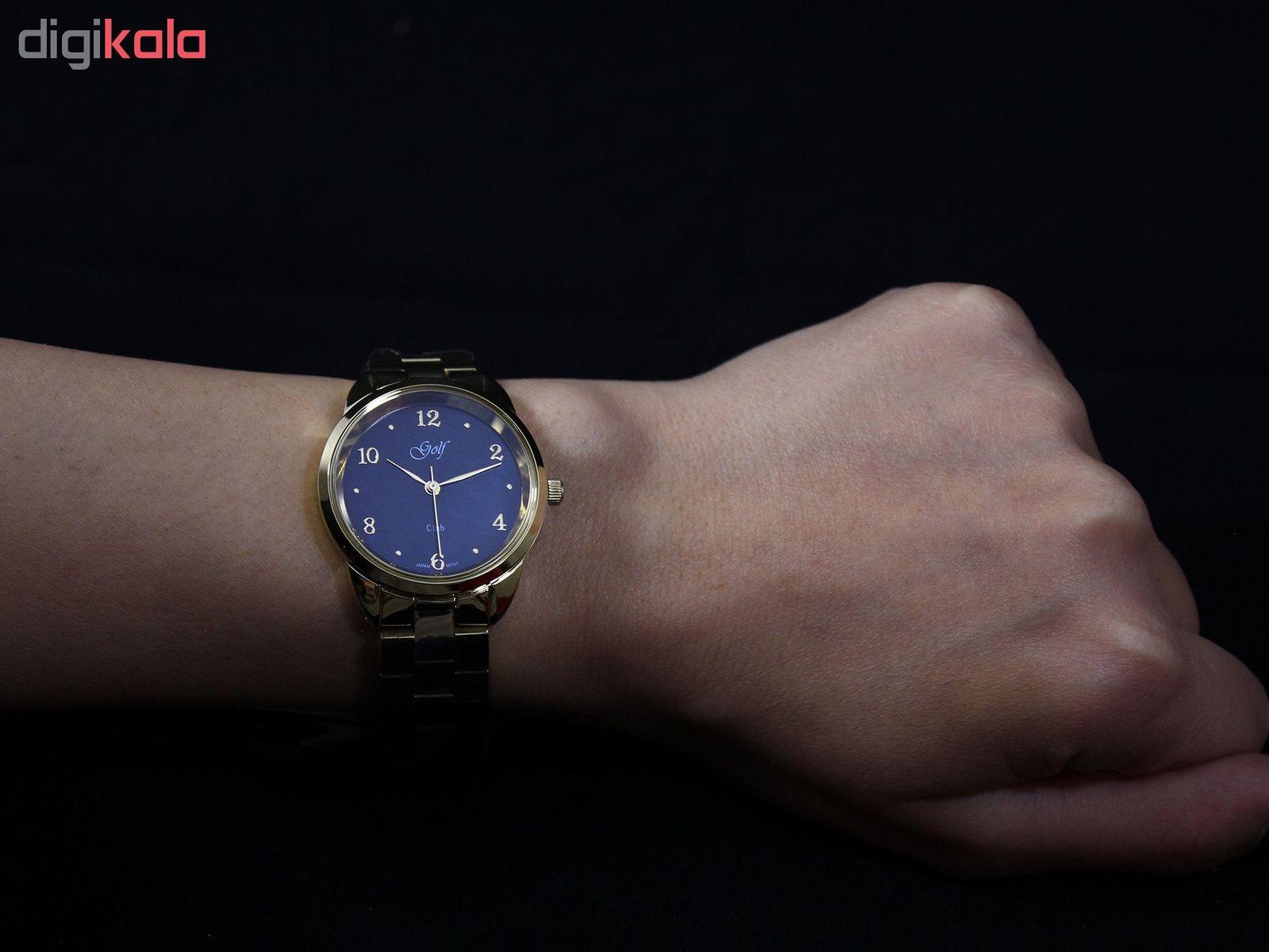 ساعت مچی عقربه ای زنانه گلف مدل L0110-4 -  - 3
