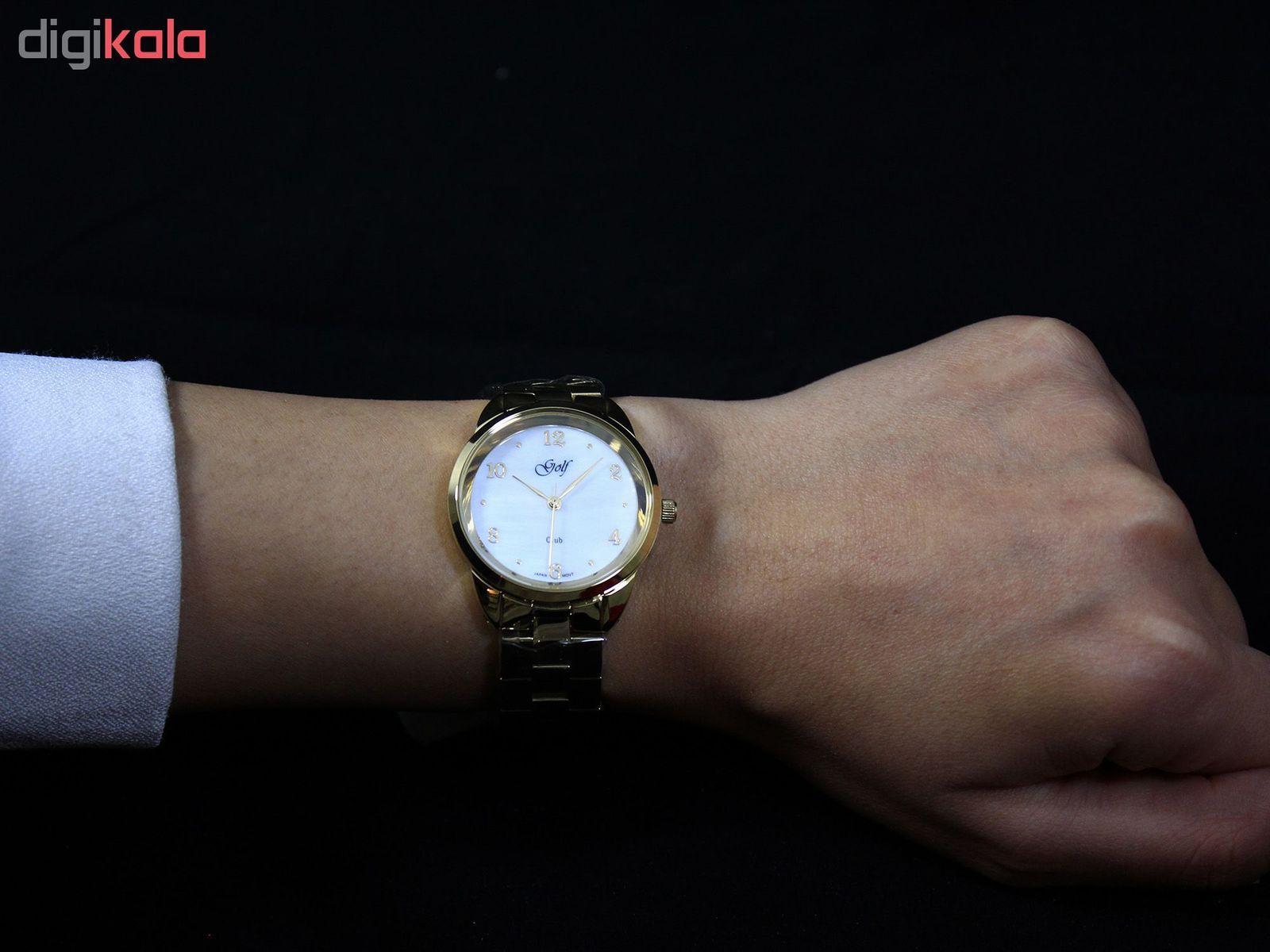 ساعت مچی عقربه ای زنانه گلف مدل L0110-3 -  - 3