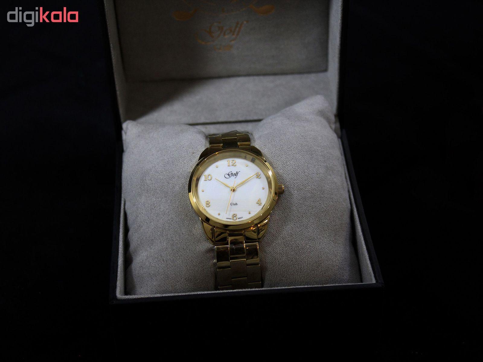 ساعت مچی عقربه ای زنانه گلف مدل L0110-3 -  - 4