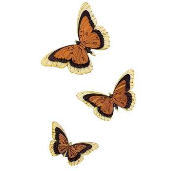 مگنت طرح پروانه بسته 3 عددی
