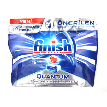 قرص ظرفشویی فینیش مدل Quantum بسته 15 عددی