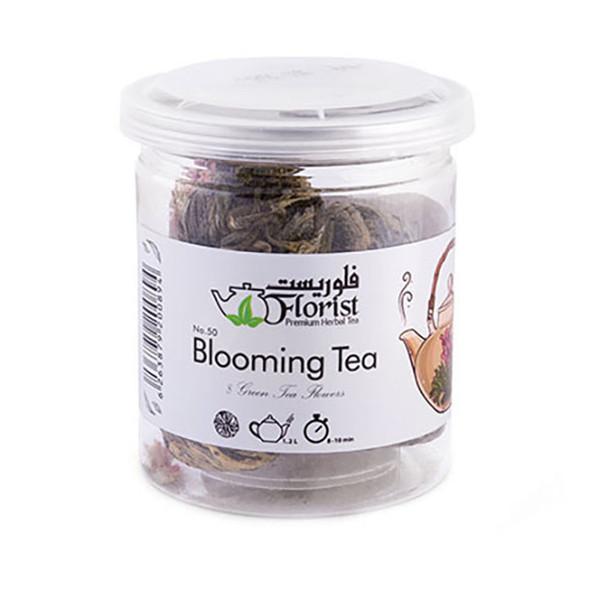 دمنوش چای سبز شکوفنده فلوریست - 58 گرم