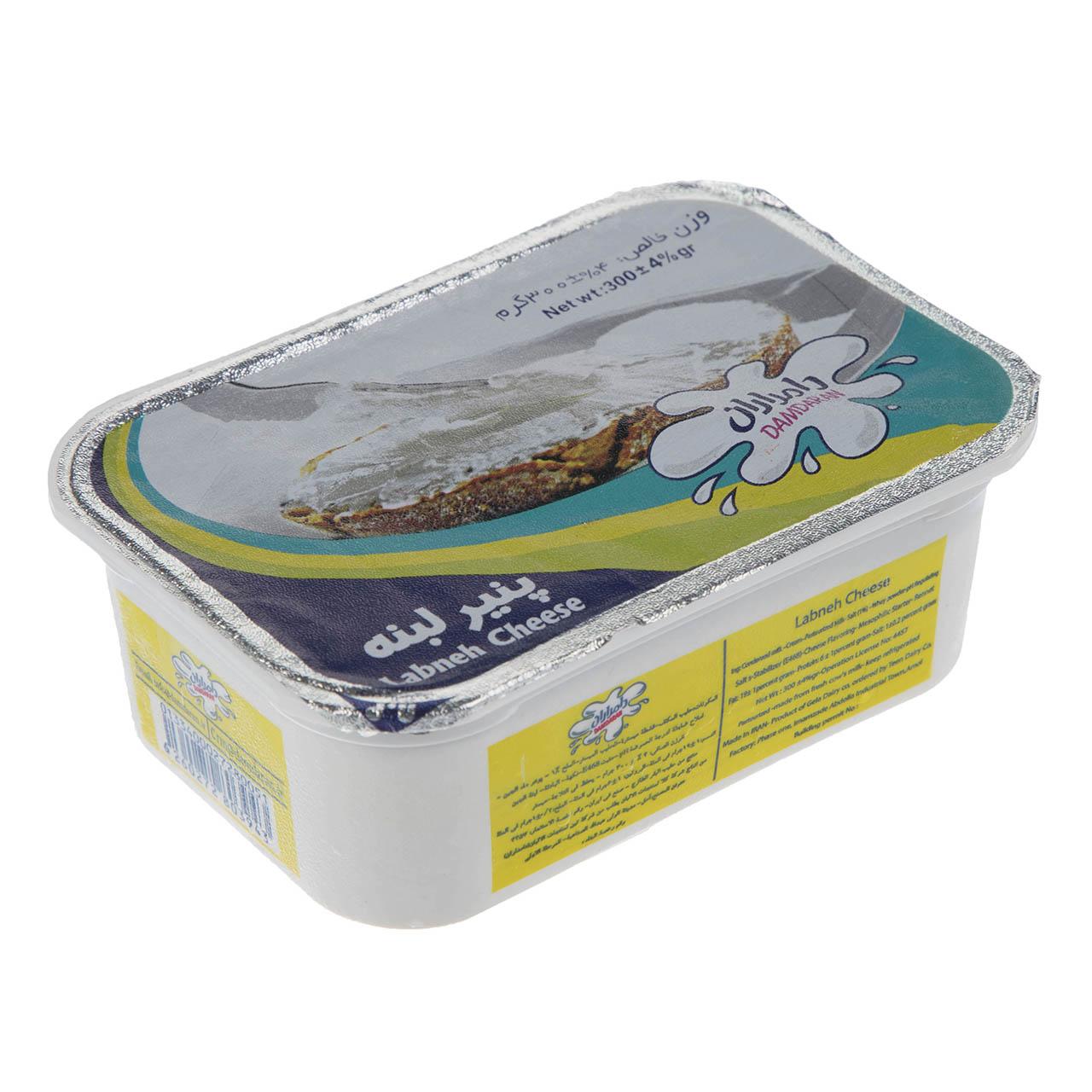 پنیر لبنه دامداران مقدار 300 گرم