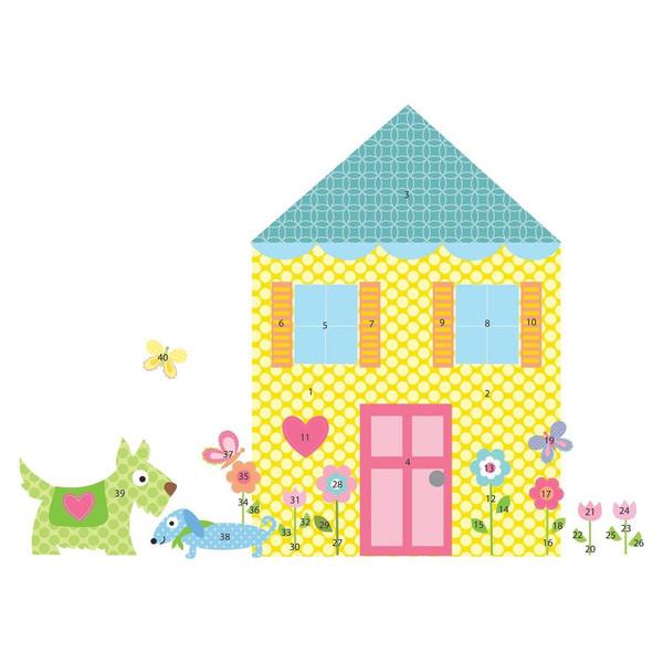 استیکر رومیت مدل Build A House Mega Pack