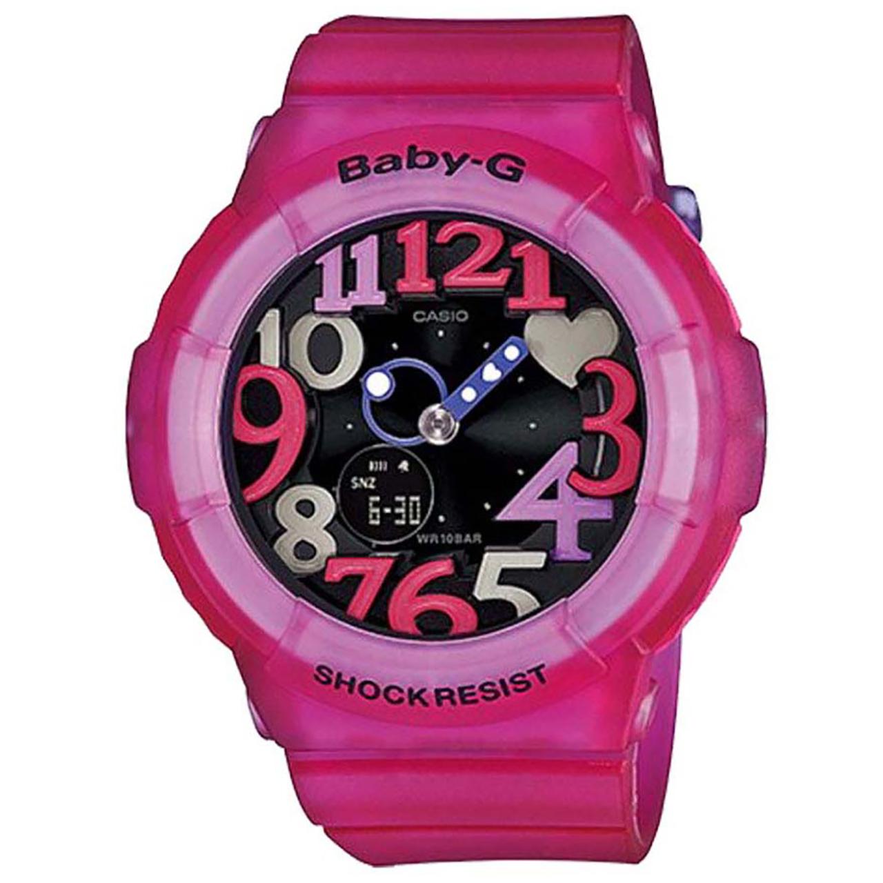ساعت مچی عقربه ای  زنانه کاسیو بی بی جی مدل BGA-131-4B4DR