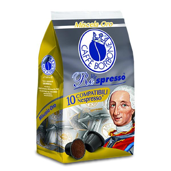 کپسول قهوه کافه بربن مدل ORO بسته ۱۰ عددی