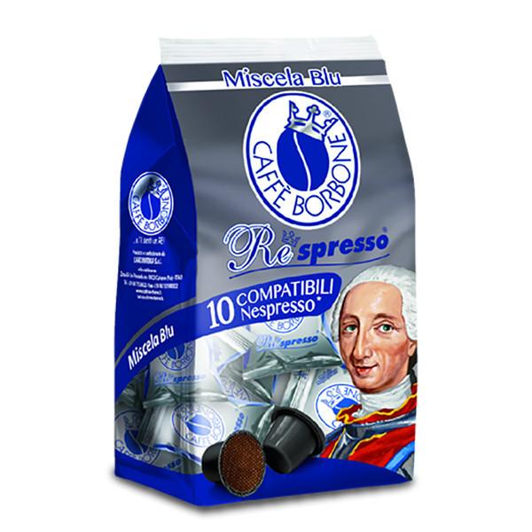 کپسول قهوه کافه بربن مدل BLU بسته ۱۰ عددی
