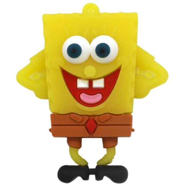 فلش مموری کینگ فست مدل Sponge Bob BB-10 ظرفیت 32 گیگابایت