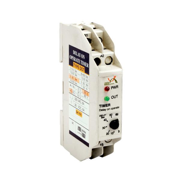 تایمر تاخیر در وصل برنا الکترونیک طرح مینیاتوری مدل DOT 600S