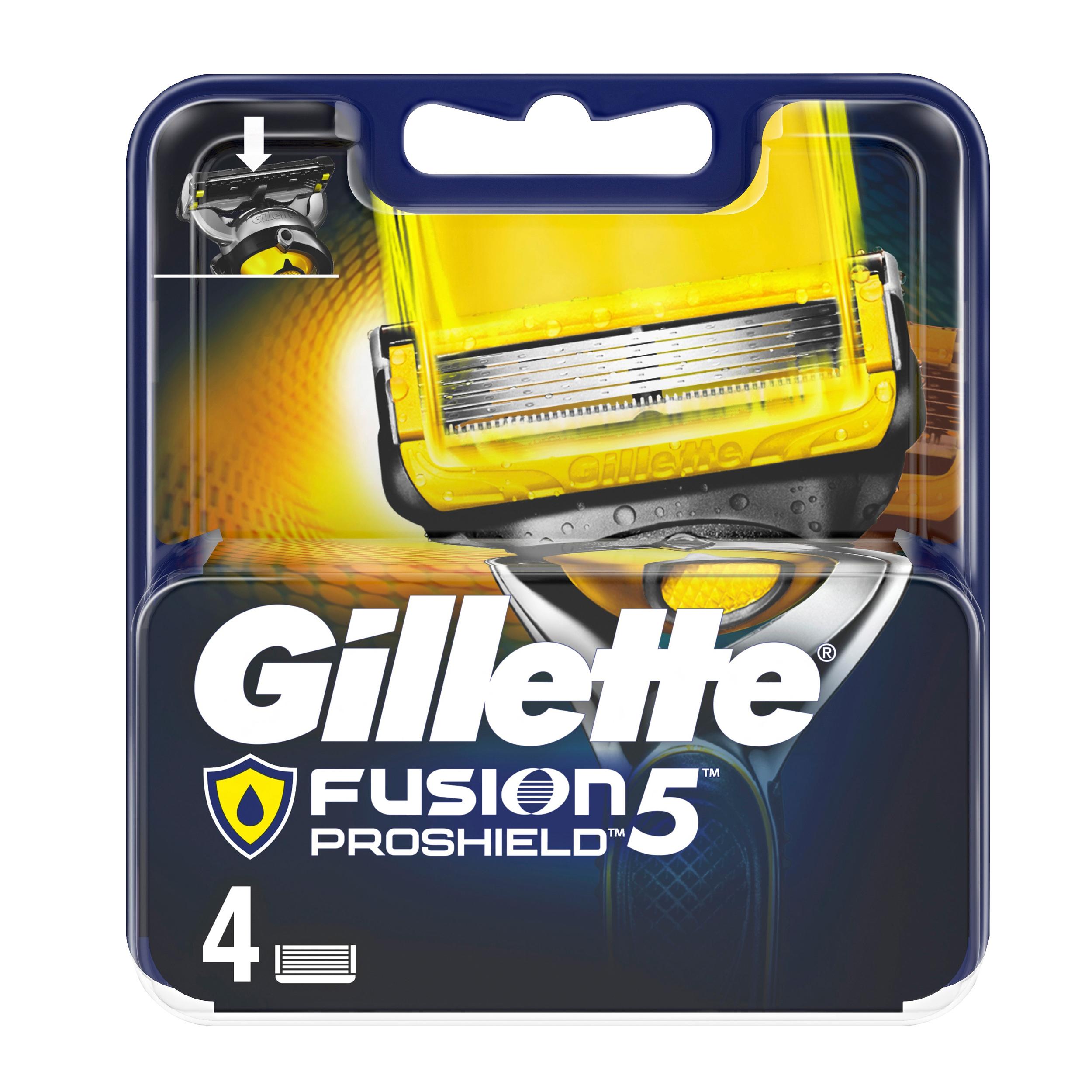 قیمت تیغ یدک ژیلت مدل Fusion 5 Proshield بسته 4 عددی