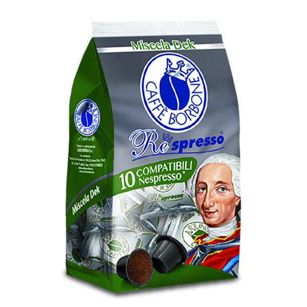 کپسول قهوه کافه بربن مدل DEK بسته ۱۰ عددی