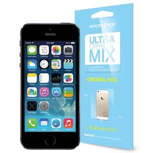 محافظ صفحه نمایش اسپیگن مدل Ultra Mix مناسب برای گوشی موبایل آیفون 5/5S