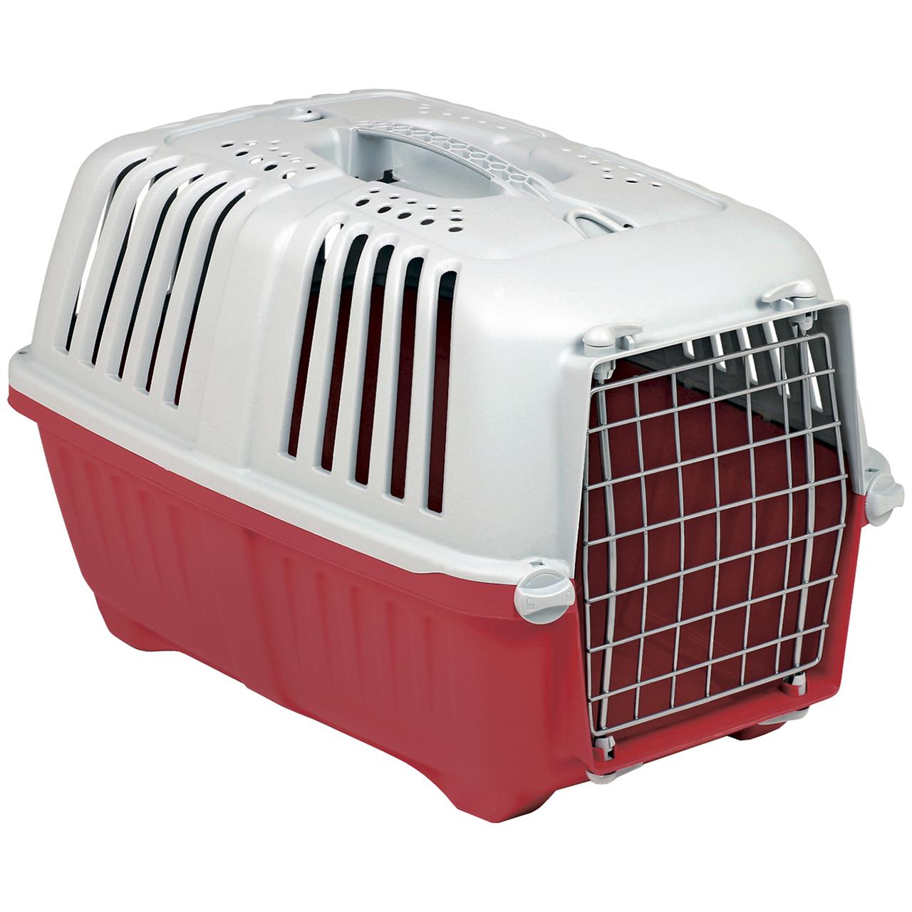 باکس حمل سگ و گربه ام پی اس 2 مدل پراتیکو 1 با در فلزی