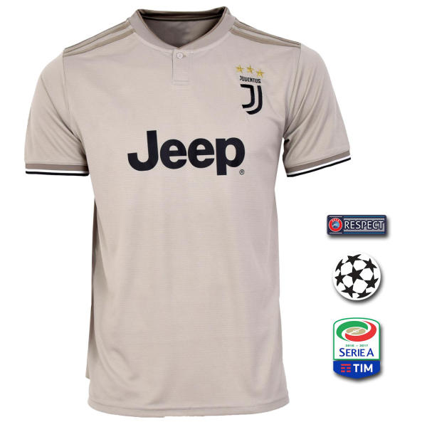 پیراهن ورزشی طرح رونالدو مدل یوونتوس Away18/19 به همراه تگ |