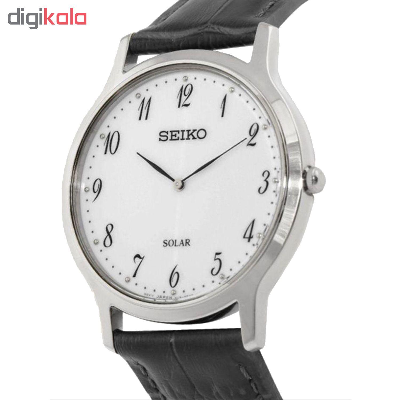 خرید ساعت مچی عقربه ای مردانه سیکو مدل SUP863P1 | ساعت مچی