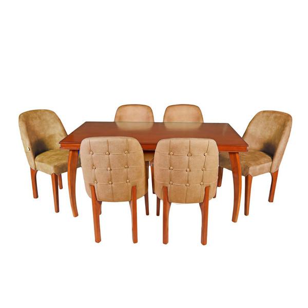 میز و صندلی ناهار خوری چوبکو مدل 675_6