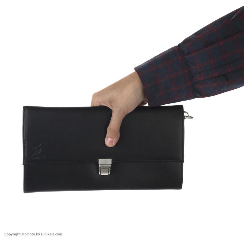 کیف دستی مردانه چرمیران مدل 1060101