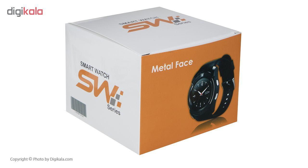 ساعت هوشمند اس دبلیو مدل Metal Face main 1 20