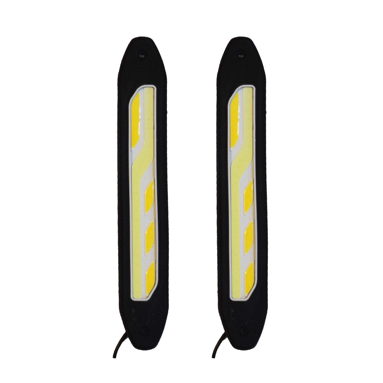 چراغ ال ای دی خودرو دی تایم رانینگ لایت مدل 03 بسته 2 عددی