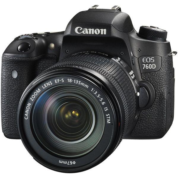 دوربین دیجیتال کانن مدل EOS 760D به همراه لنز 18-135 IS STM | Canon EOS 760D / Rebel T6s Kit 18-135 IS STM Digital Camera