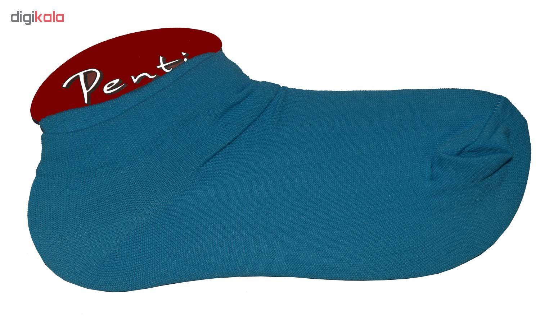 جوراب زنانه پنتی کد521 مجموعه 12عددی