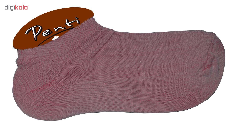 جوراب زنانه پنتی کد521 مجموعه 12عددی main 1 3
