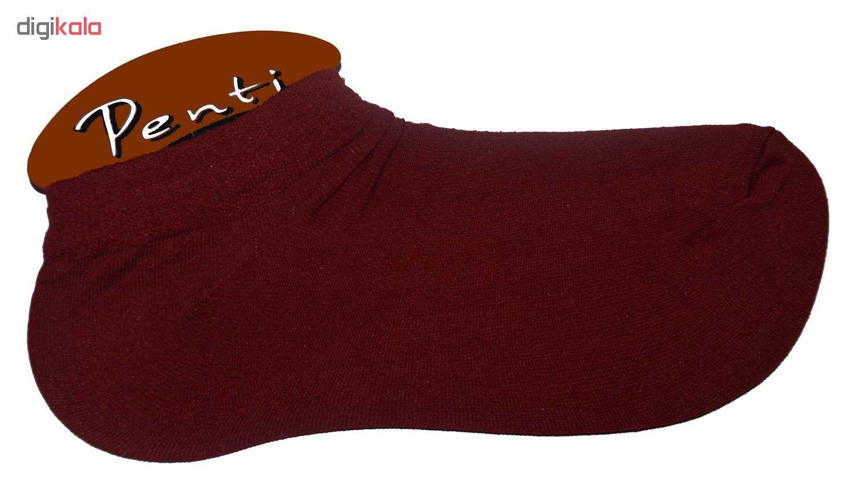 جوراب زنانه پنتی کد521 مجموعه 12عددی main 1 5