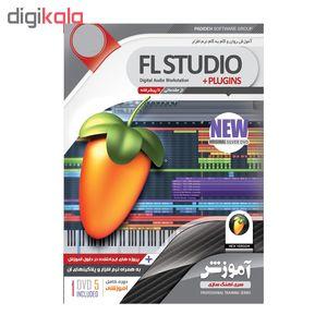 مجموعه 2 پکیج آموزش تصویری آهنگ سازی با نرم افزار های FL STUDIO وCUBASE نشر پدیده