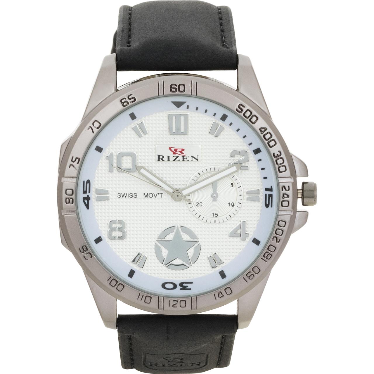 ساعت مچی عقربه ای مردانه ریزن مدل RIZEN1