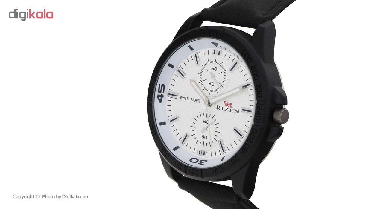 ساعت مچی عقربه ای مردانه ریزن مدل RIZEN2
